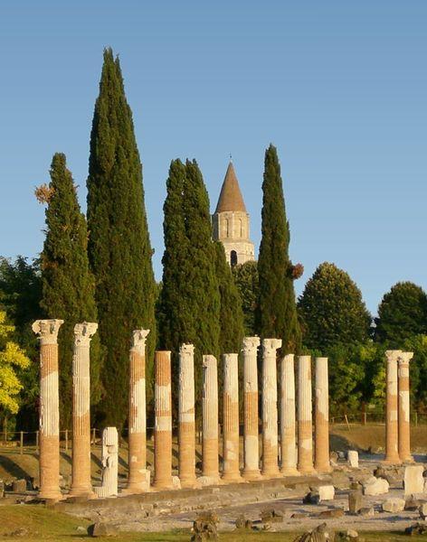 Římské vykopávky v Aquileii