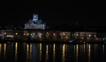 Helsinky v noci